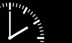 Rellotge senyalant les 2 i 10