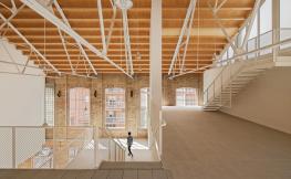 interior edifici obra nova