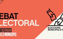 Eleccions municipals 2019. Debat amb les candidatures de Manresa
