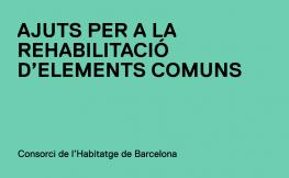Convocatòria d'ajuts a la rehabilitació d'elements comuns a la ciutat de Barcelona per a l'any 2020