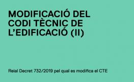 Modificació del CTE