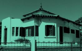 La primera casa giratoria