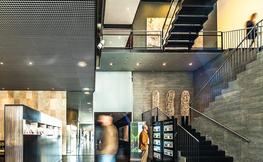 Interior d'un hotel modern.