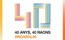 40 anys 40 raons #incasol