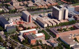 Imatge aèria del Campus Sud UB-UPC
