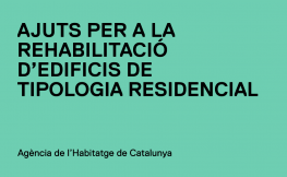 Ajuts per a la rehabilitació d'edificis de tipologia residencial