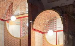 Interior edifici en reformes Lleida