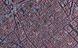 Foto dron Barcelona.
