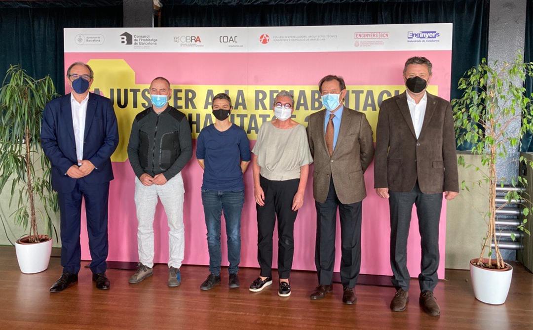 Presentació dels Ajuts a la Rehabilitació d'habitatges 2021 a Barcelona