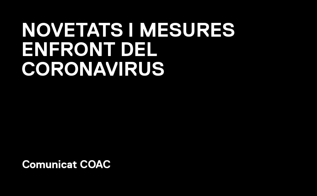 Informació d'interès davant del coronavirus