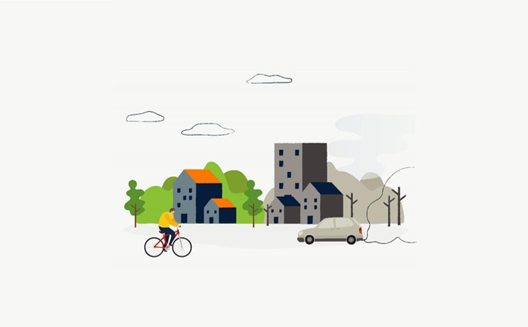 il·lustració d'una ciutat