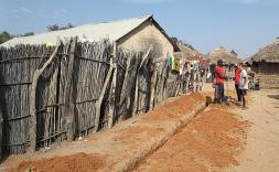 Xarxa de distribució d'aigua potable a les kunda de Boulembou (Senegal)
