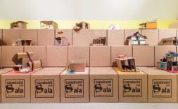 capses de construïnt sala