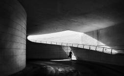 fotografia interior d'un tunel