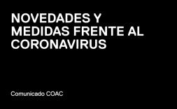 novedades y medidas frente al coronavirus